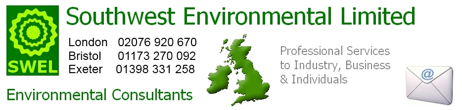 Environmental Consultants Southwest England UK Cornwall Somerset Devon Dorset